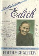 With Love Edith: The LAbri Family Letters 1948 to 1960